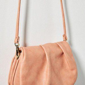 ANTHROPOLOGIE MAUDE Crossbody Bag/purse/clutch PEA